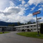 Blue River Motel (Blue River):カナダ2日目