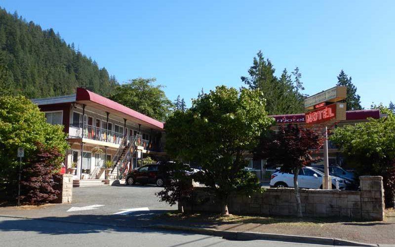 The Classic Horseshoe Bay Motel (West Vancouver):カナダ10日目