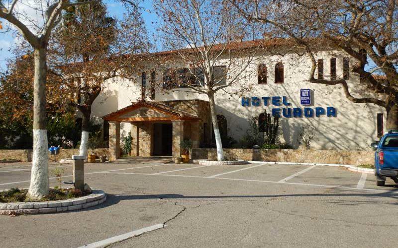 Hotel Europa Olympia (Olympia):ギリシャ9日目