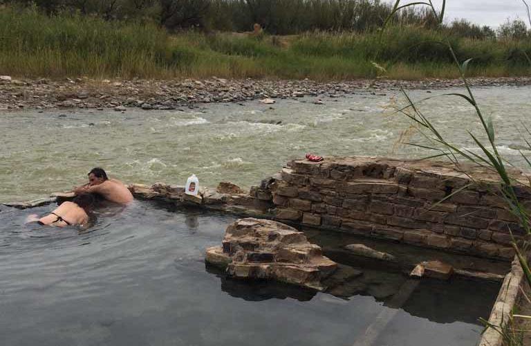 アメリカで温泉♨︎(Big Bend National Park)