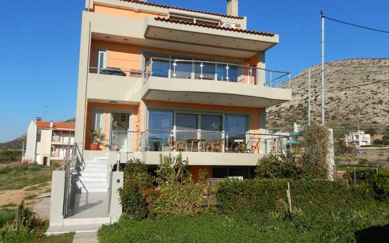 Sandra's Sea View at Sounio (Sounio):ギリシャ5日目