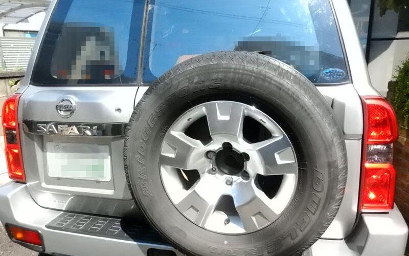 タイヤがヒビ割れ!!