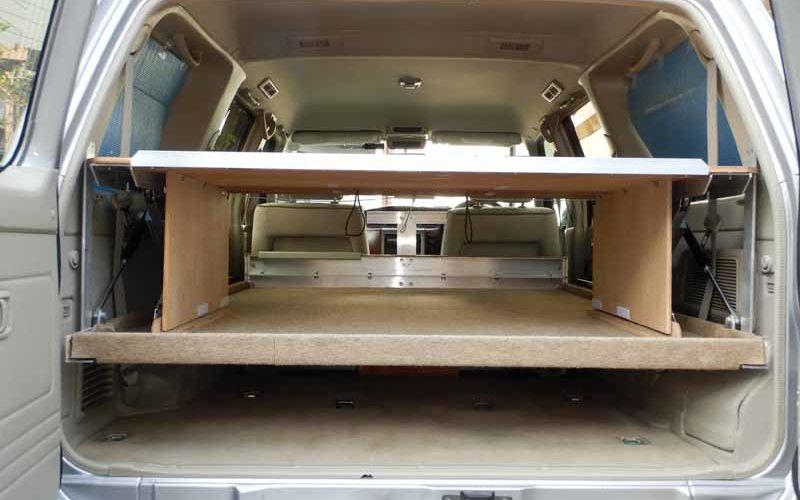 荷台ベッドの製作2