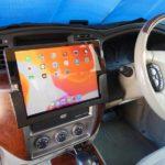 カーナビ iPadホルダー作製