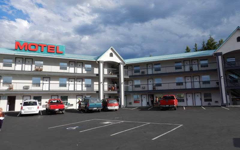 Alpine Motel (Kamloops):カナダ8日目