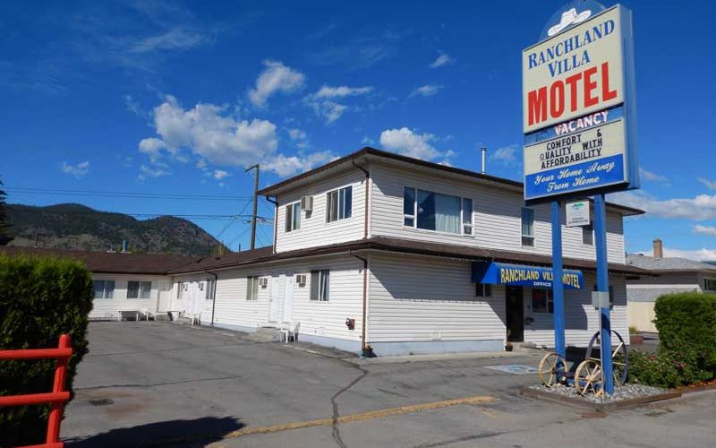 Ranchland Villa Motel (Merritt):カナダ1日目