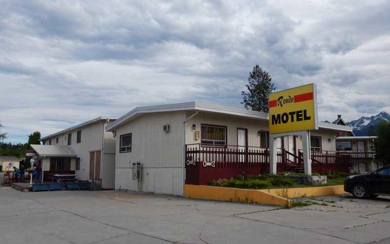Rondo Motel (Golden):カナダ4日目
