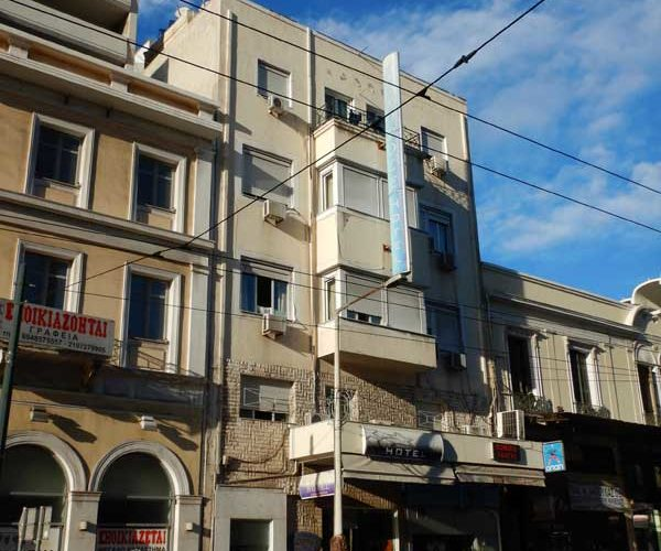 Acropole Hotel ② (Piraeus):ギリシャ4日目
