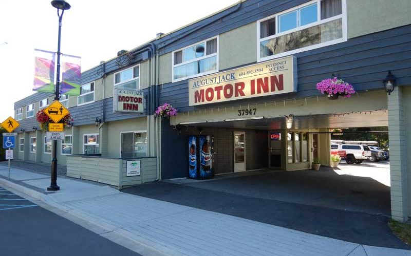 August Jack Motor Inn (Squamish):カナダ9日目